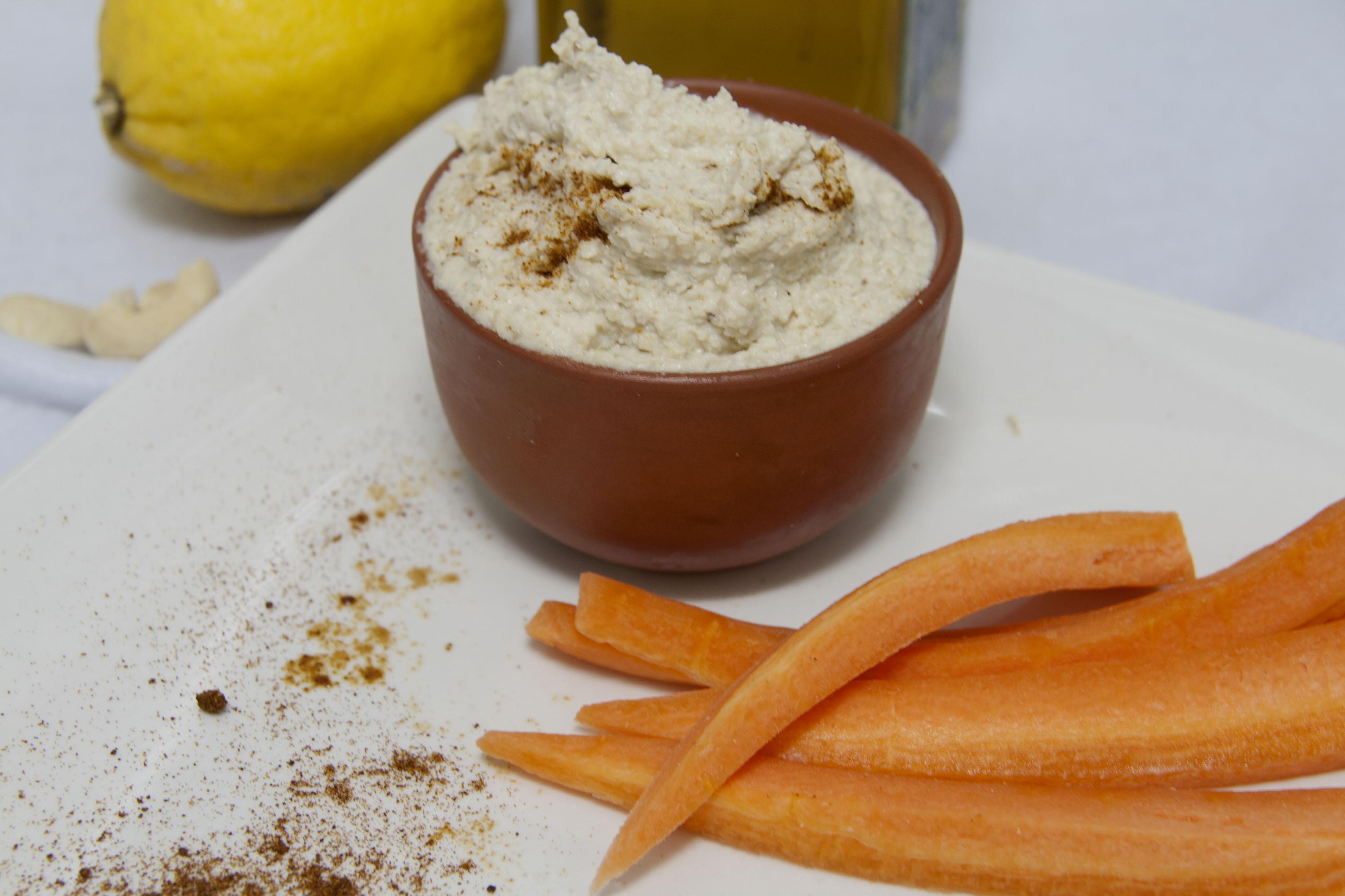 Hummus de anacardos {paleo}