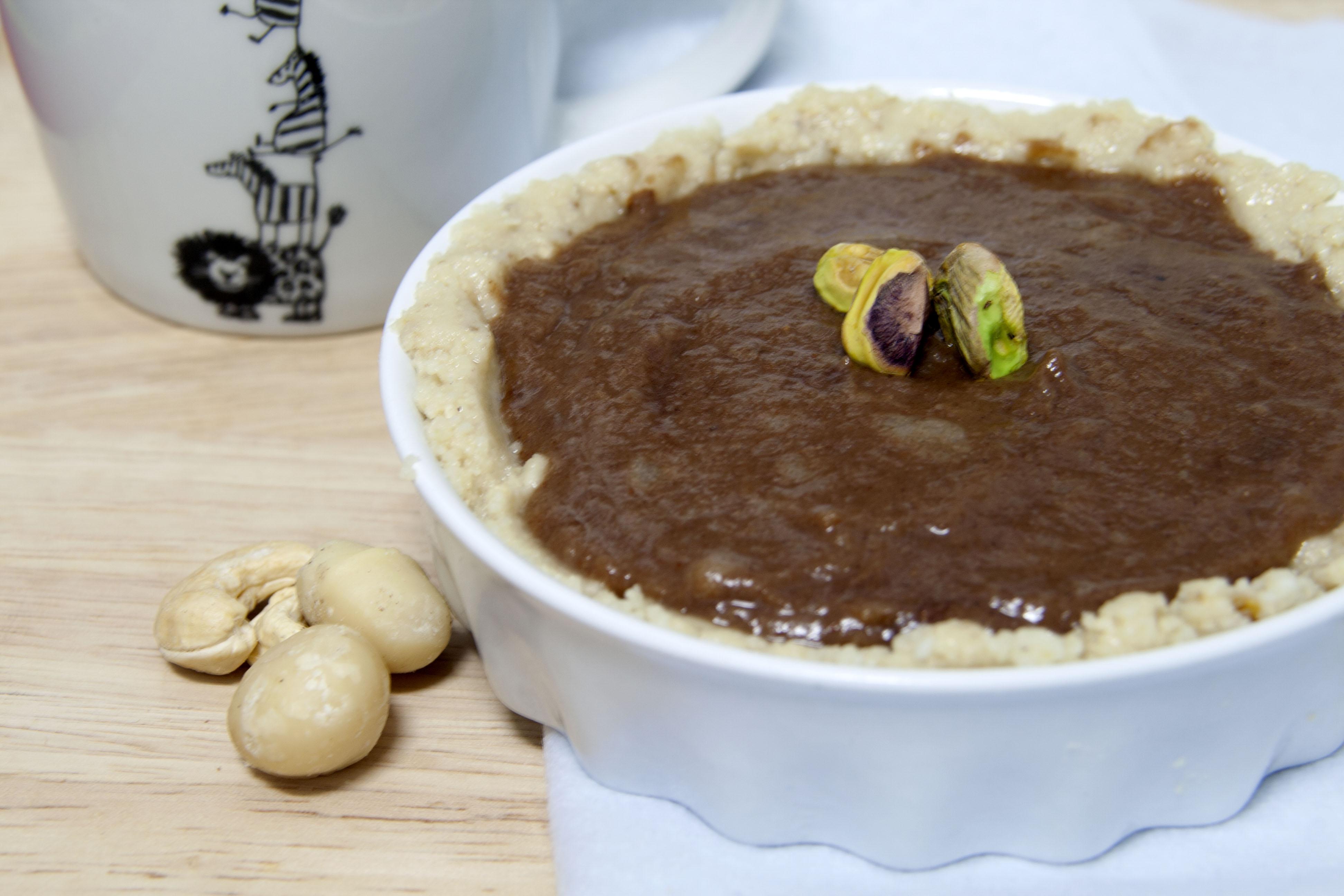 Tartaletas de pera: fáciles y sin horno
