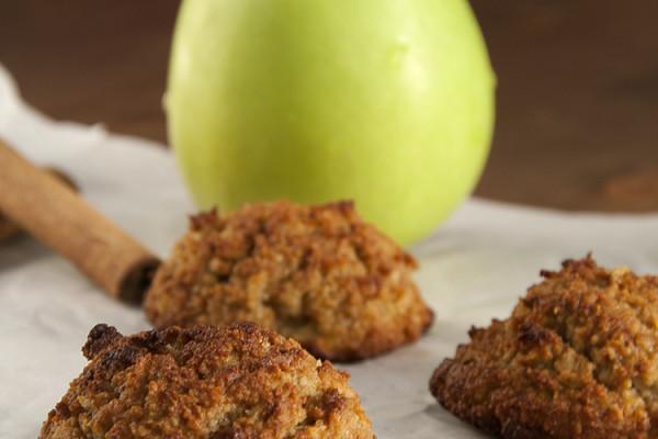 Bizcochitos de manzana y canela