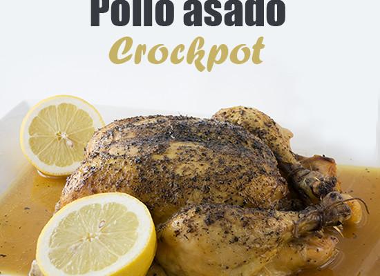 Pollo asado a fuego lento {crockpot}