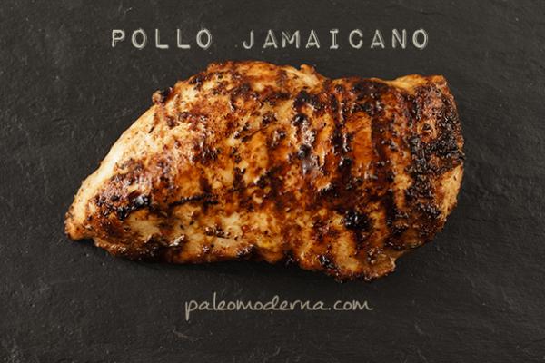 Pollo jamaicano, sencillo y delicioso
