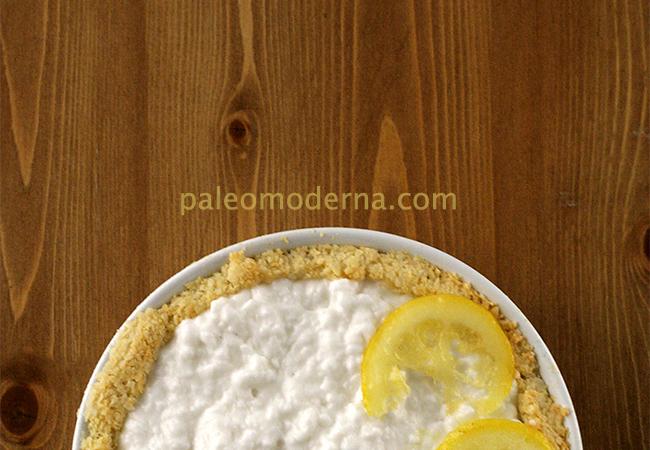 Pastel de coco y limón {sin gluten, sin lactosa}