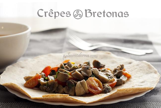 Crepes bretonas o Galettes {sin gluten, sin lactosa}
