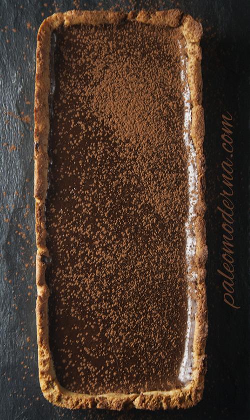 pastel mousse chocolate paleo