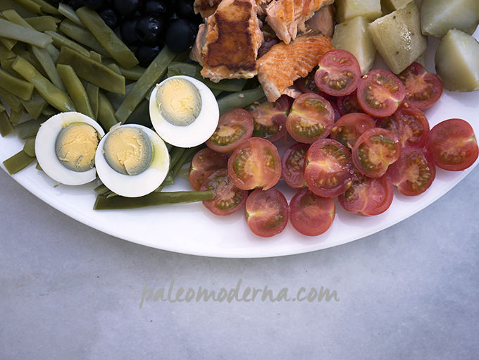 ensalada nizarda, paleo, whole30