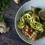 noodles vegetales, vegano paleo