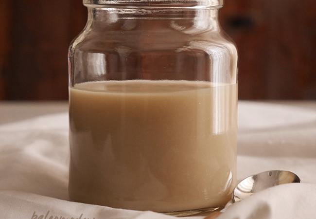 Leche condensada {sin lactosa}