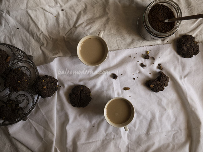 galletas chocolate pistacho sin gluten