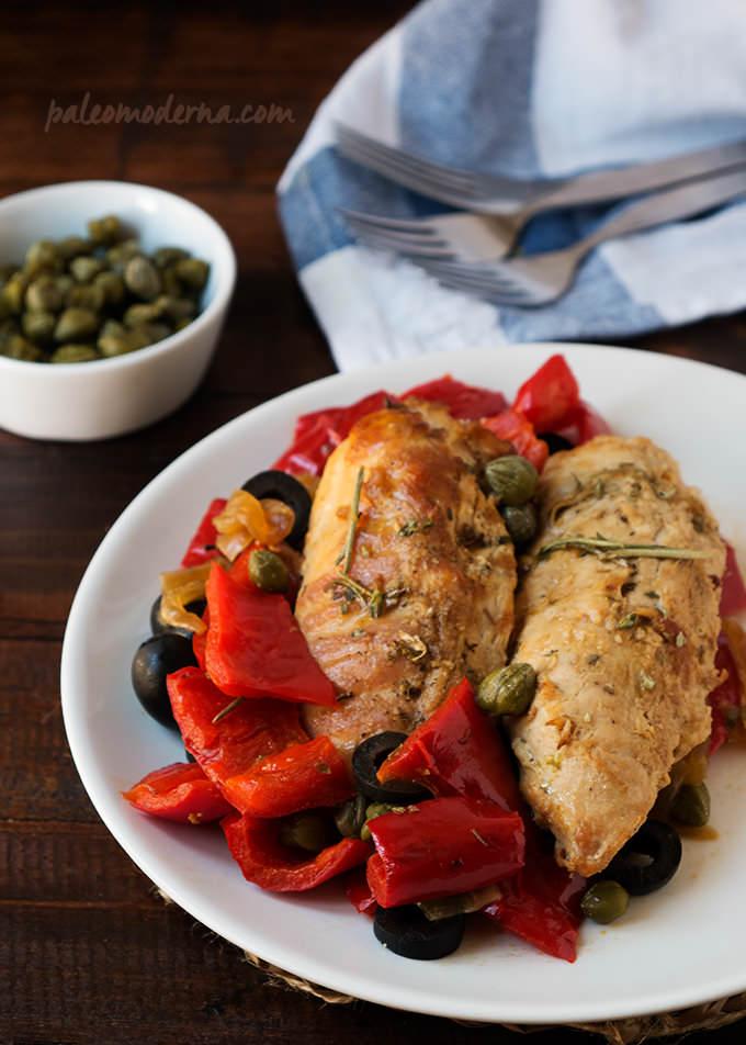 recetas paleodieta pollo